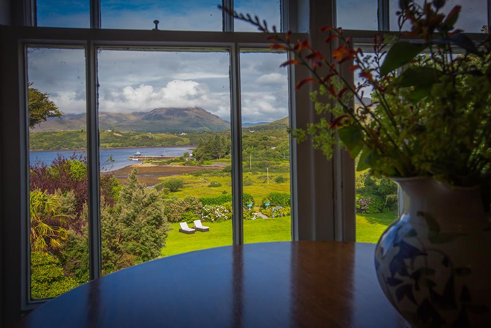 Rosleague Manor in Clifden Connemara Ireland