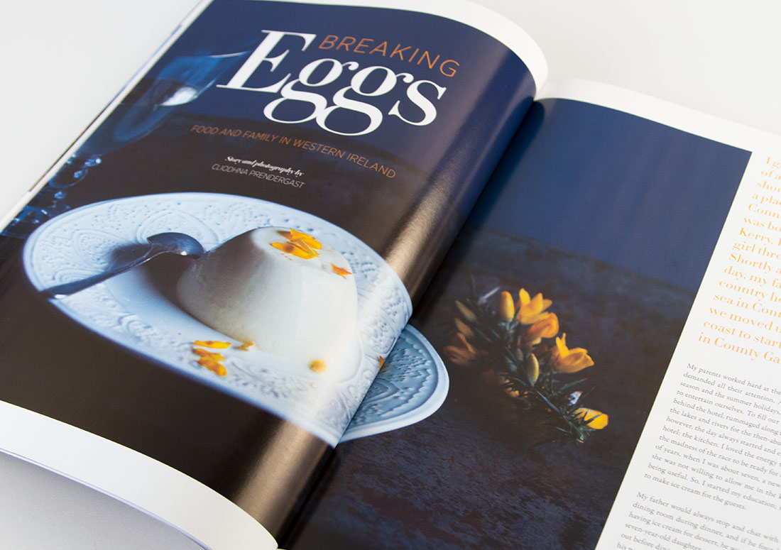 Connemara Life Interior Pages branding design publishing publication