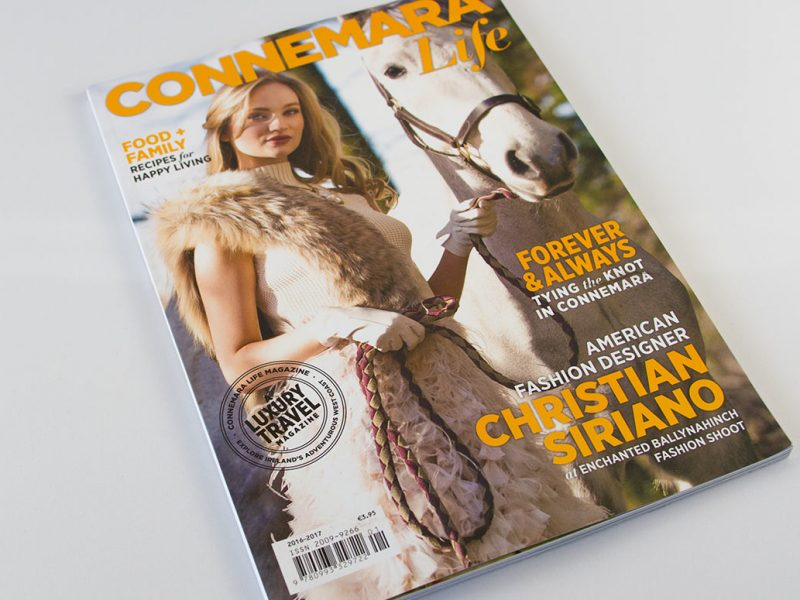 Connemara Life Magazine Cover 2016 branding publishing design publication