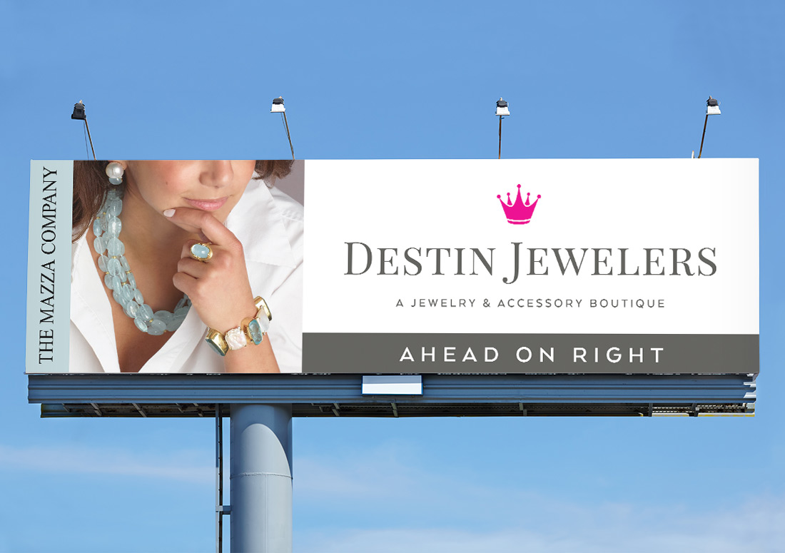 Destin Jewelers - Billboard design