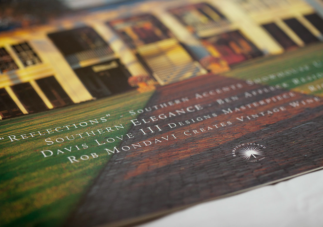 Hampton Island Branding Brochure Georgia luxury