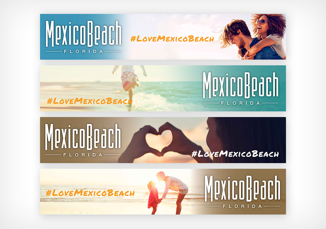 Mexico Beach, Mexico Beach Florida, Love Mexico Beach, Billboard Designs
