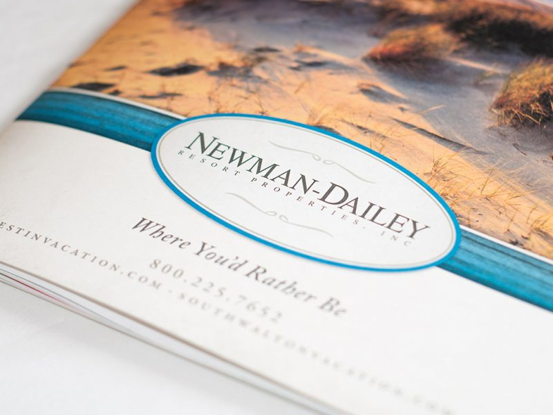Newman Dailey Brochure real estate branding publishing