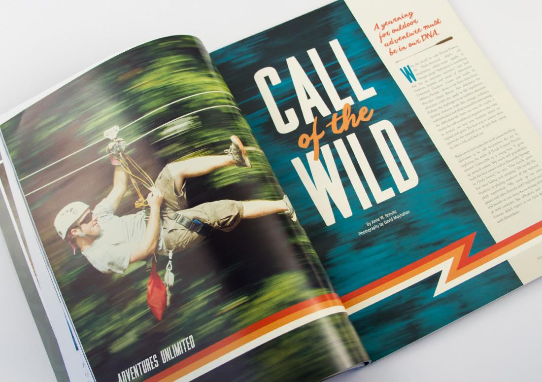 Portofino Life Magazine Spread premier island management group publishing branding print