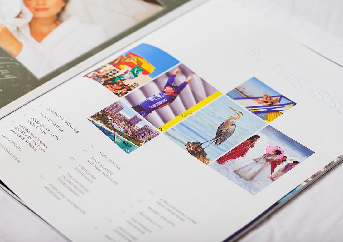 Portofino Life Magazine premier island management group publishing branding print