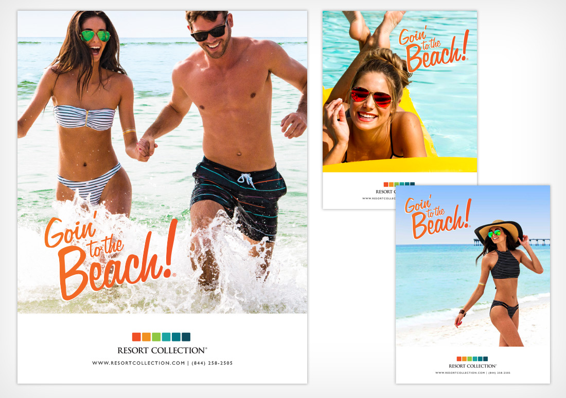 Resort Collection Print Ad Campaign branding advertising advertisement