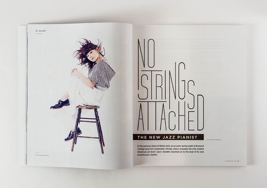 VIE Magazine Article No Strings Attached