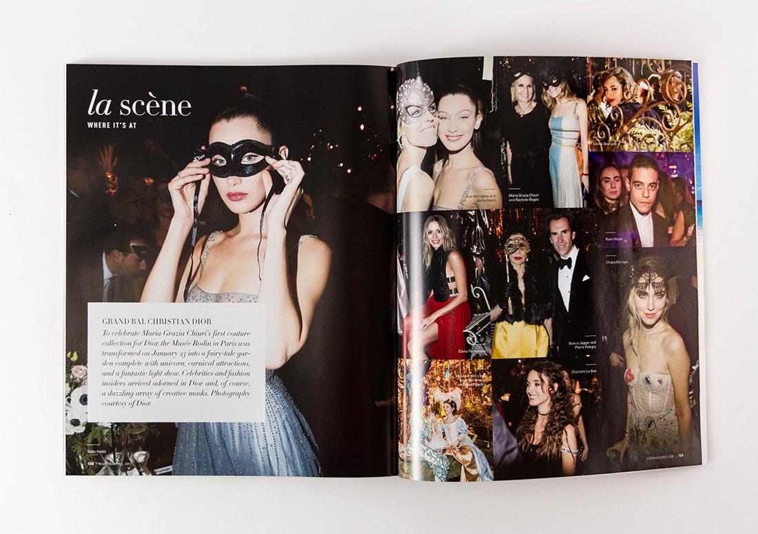 VIE Magazine Article La Scene