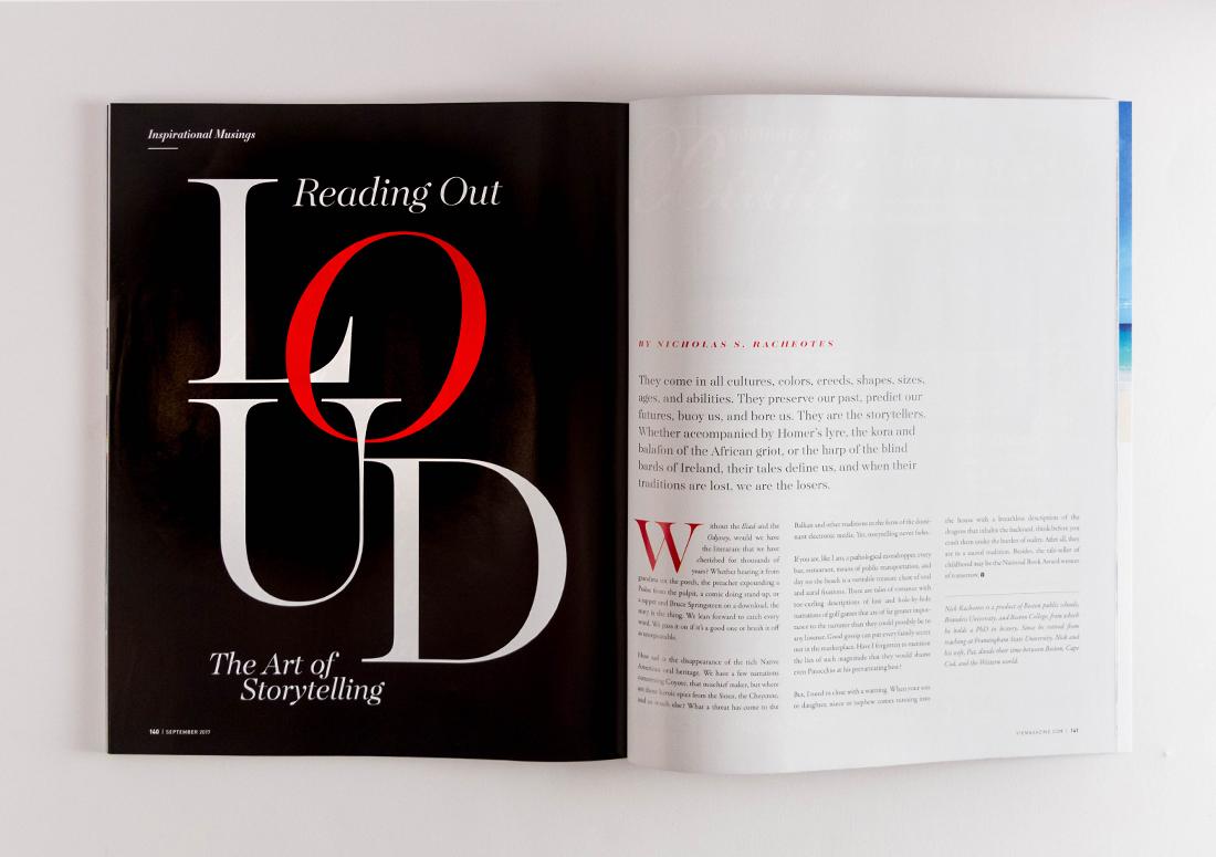 VIE Magazine Article Nick Racheotes