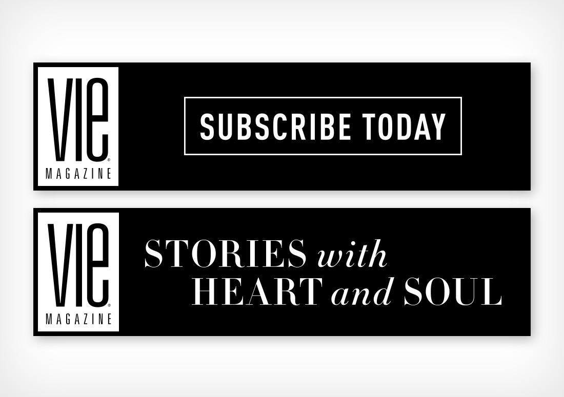 VIE Magazine Subscribe web banner ads