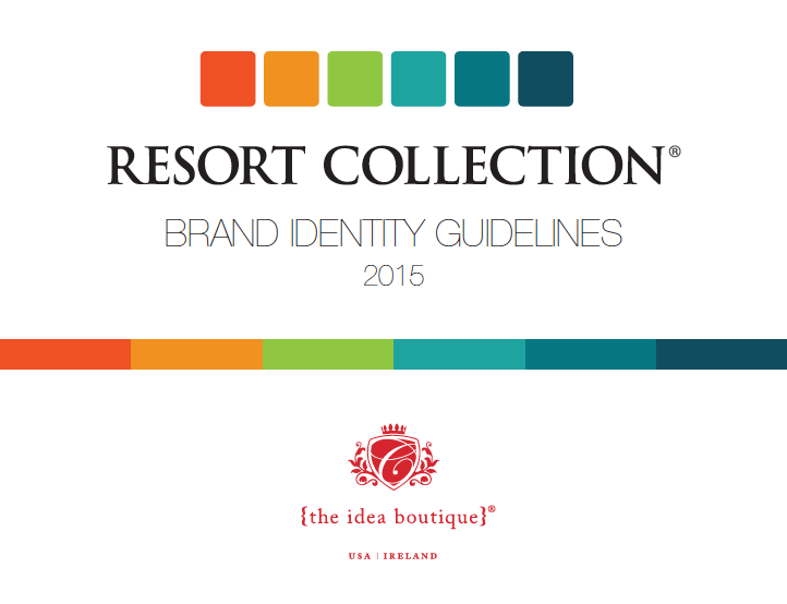 Resort Collection Brand Identity The Idea Boutique