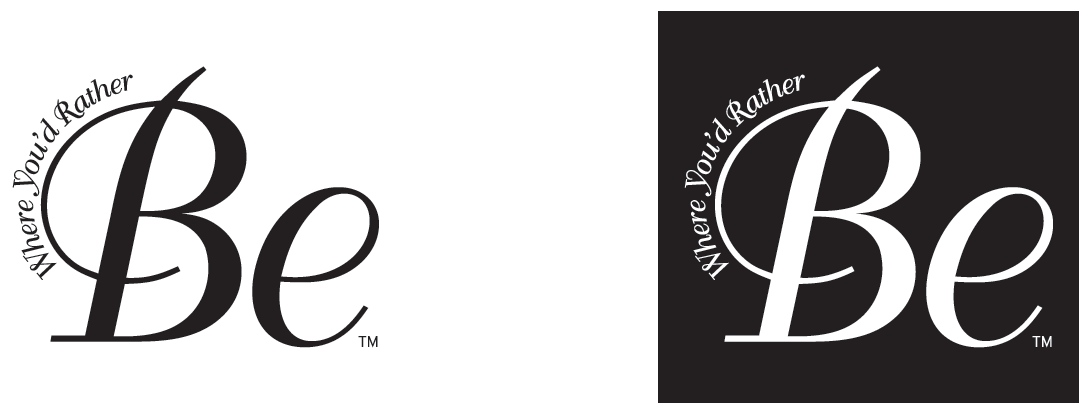 Be Magazine Logo Treatments