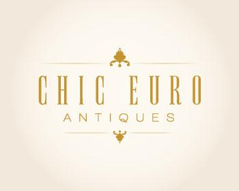 Chic Euro Antiques in Florida Logo Design The Idea Boutique