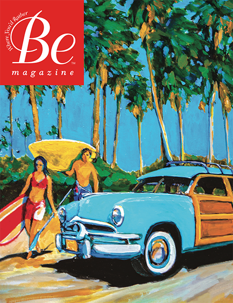 Newman Dailey's Be Magazine 2014 cover