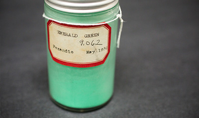Emerald Green Edward Forbes Pigment Color