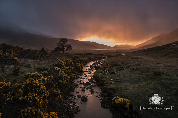 Renyvle Connemara Life Magazine 2015 Sunrise in Connemara