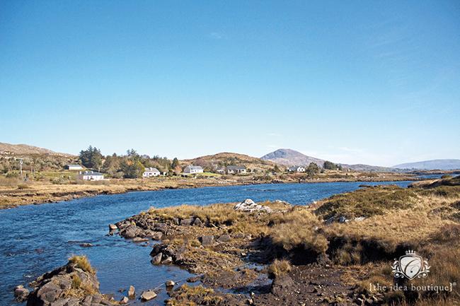 Landscapes of Clifden Connemara Ireland