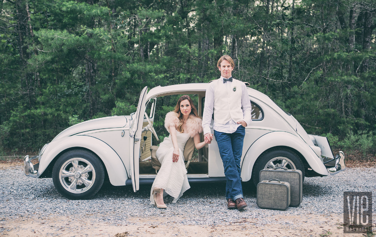 VIE Magazine Faux Wedding Photo Shoot