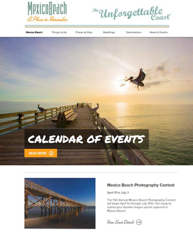 Mexico Beach Florida Website