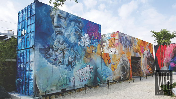 Wynwood Art District in Miami Florida seen in VIE Magazine