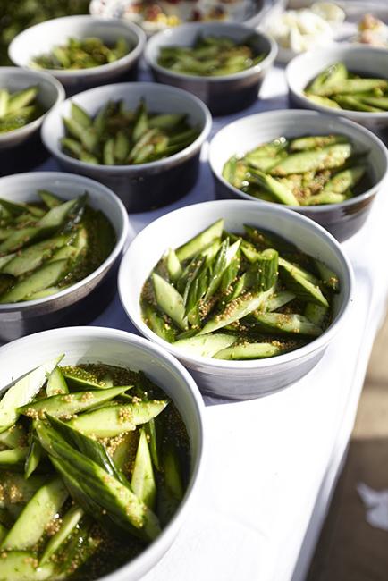 Snap Peas from Ballymaloe Cookery School