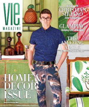 VIE Magazine's Home & Decor 2016 Cover with Christian Sirano