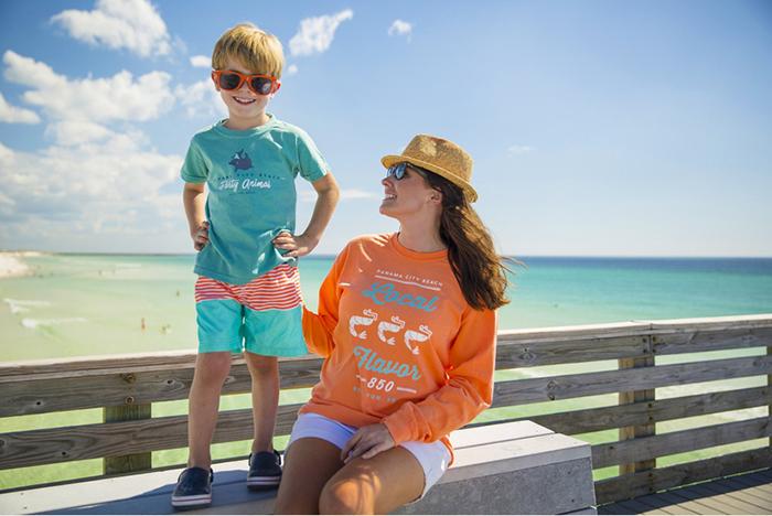 T-shirt designs The Idea Boutique designed for Visit Panama City Beach