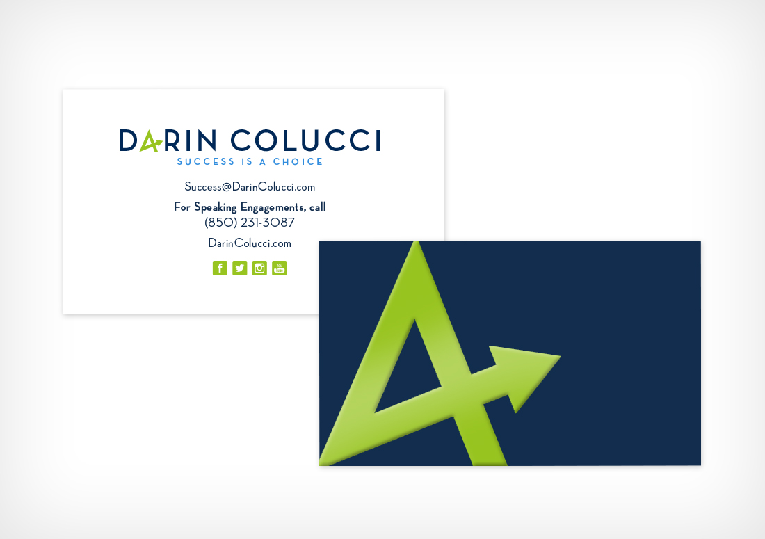 Darin Colucci business cards