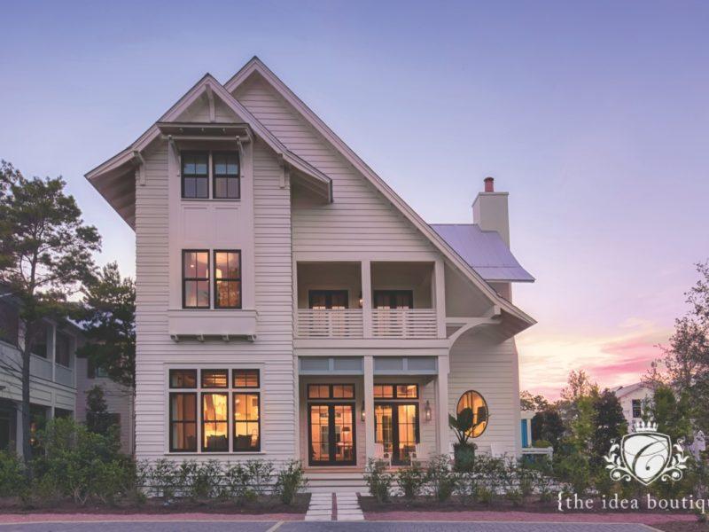 Maison de VIE home photo shoot, Watercolor, Florida