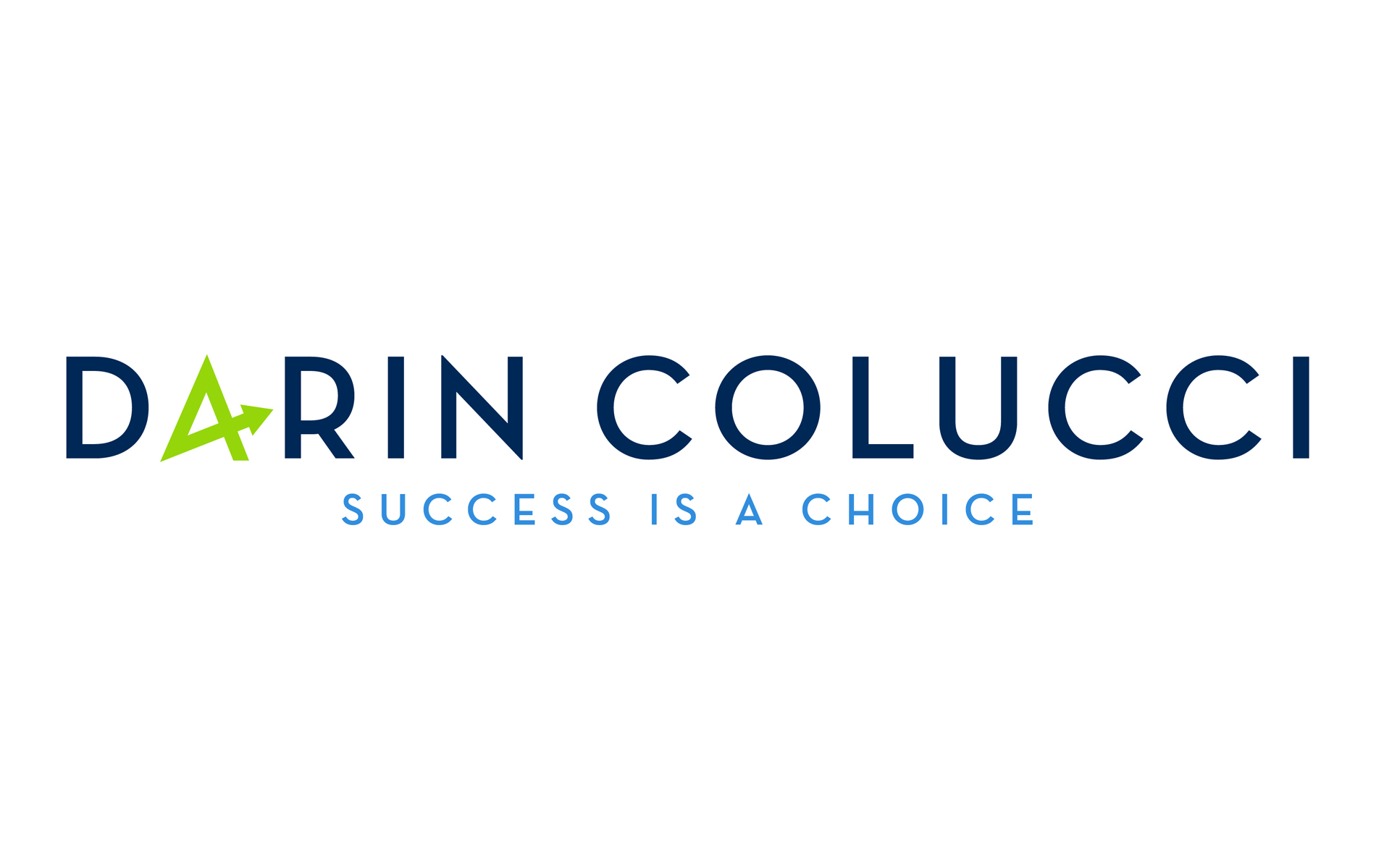 Darin Colucci Logo designed by The Idea Boutique