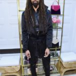 Stylist Ty Hunter attends the opening of Christian Siriano's new store, The Curated, hosted by Alicia Silverstone and sponsored by VIE Magazine on April 17, 2018, in New York City.