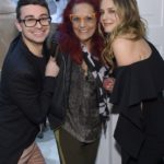 Christian Siriano, Patricia Fields, and Alicia Silverstone attend the opening of Christian Siriano's new store, The Curated, hosted by Alicia Silverstone and sponsored by VIE Magazine on April 17, 2018, in New York City.