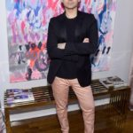 Fashion designer Christian Siriano attends the opening of his new store, The Curated, hosted by Alicia Silverstone and sponsored by VIE Magazine on April 17, 2018, in New York City.