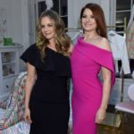 Alicia Silverstone and Debra Messing attend the opening of Christian Siriano's new store, The Curated, hosted by Alicia Silverstone and sponsored by VIE Magazine on April 17, 2018, in New York City.