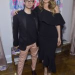 Fashion designer Christian Siriano and Alicia Silverstone attend the opening of Christian Siriano's new store, The Curated, hosted by Alicia Silverstone and sponsored by VIE Magazine on April 17, 2018, in New York City.