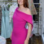 Actress Debra Messing attends the opening of Christian Siriano's new store, The Curated, hosted by Alicia Silverstone and sponsored by VIE Magazine on April 17, 2018, in New York City.