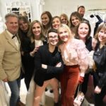 Fashion designer Christian Siriano and The Idea Boutique team attend the opening of Christian Siriano's new store, The Curated, hosted by Alicia Silverstone and sponsored by VIE Magazine on April 17, 2018, in New York City.