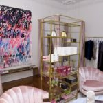 A view of the decor at the opening of Christian Siriano's new store, The Curated, hosted by Alicia Silverstone and sponsored by VIE Magazine on April 17, 2018, in New York City.