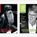 ZZ Top Cover Fall/Winter 2008 - James and Robert Redford Cover Spring 2009