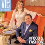 Emeril and Alden Lagasse Cover - The Food and Fashion Issue March/April 2014
