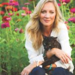 Laurie Hood Editorial Feature September/October 2014 Animal Issue - Laurie with cat