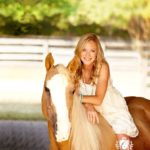 Laurie Hood Editorial Feature September/October 2014 Animal Issue - Laurie on her horse