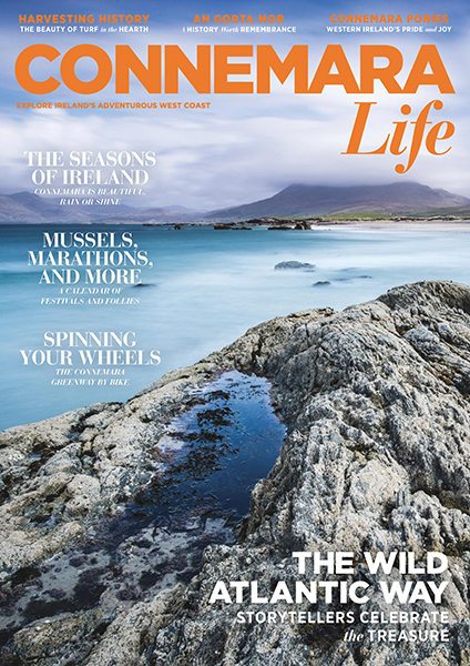 Connemara Life 2015 cover published by The Idea Boutique