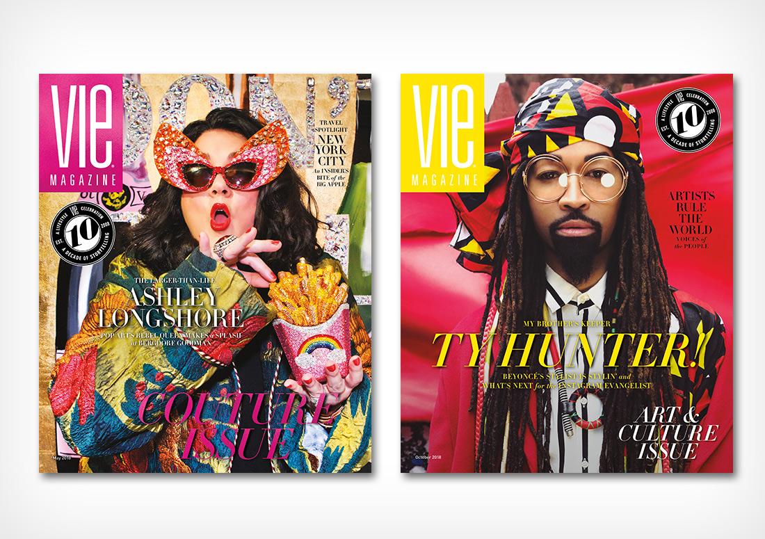 VIE Magazine - Covers