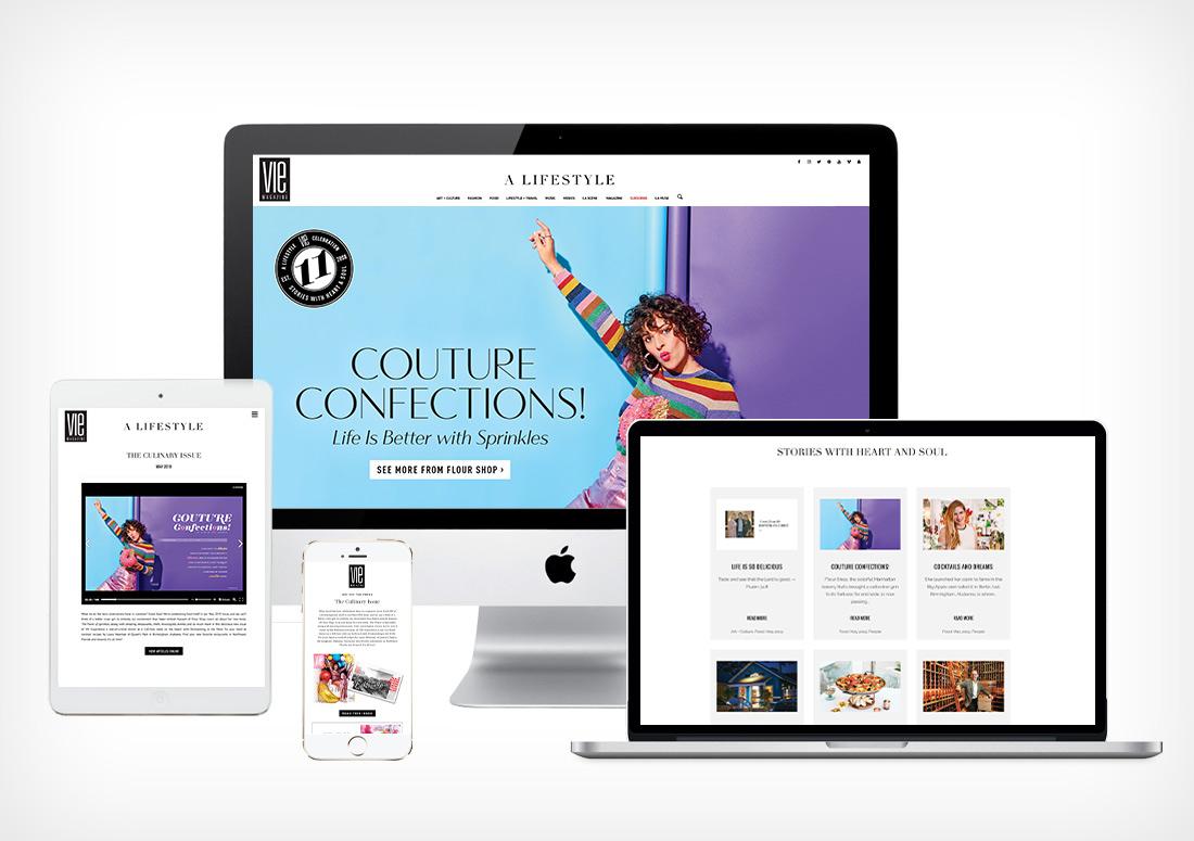 VIE Magazine - Digital Branding