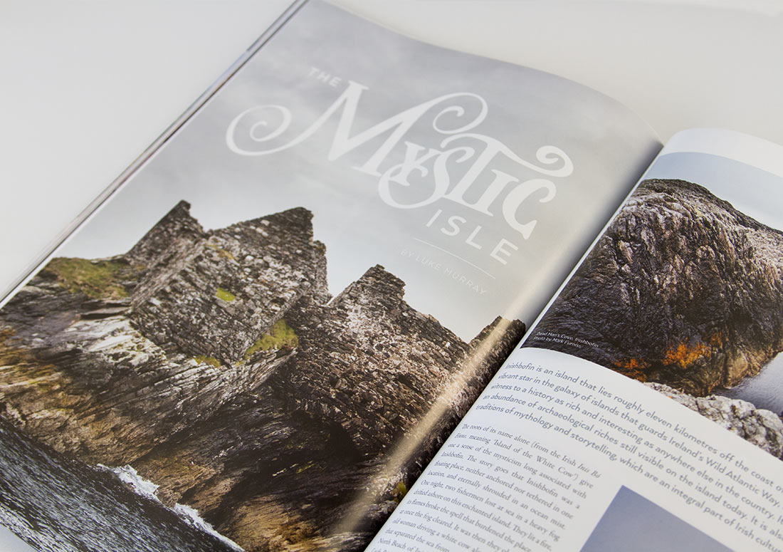 Connemara Life Interior Pages branding design publishing publication