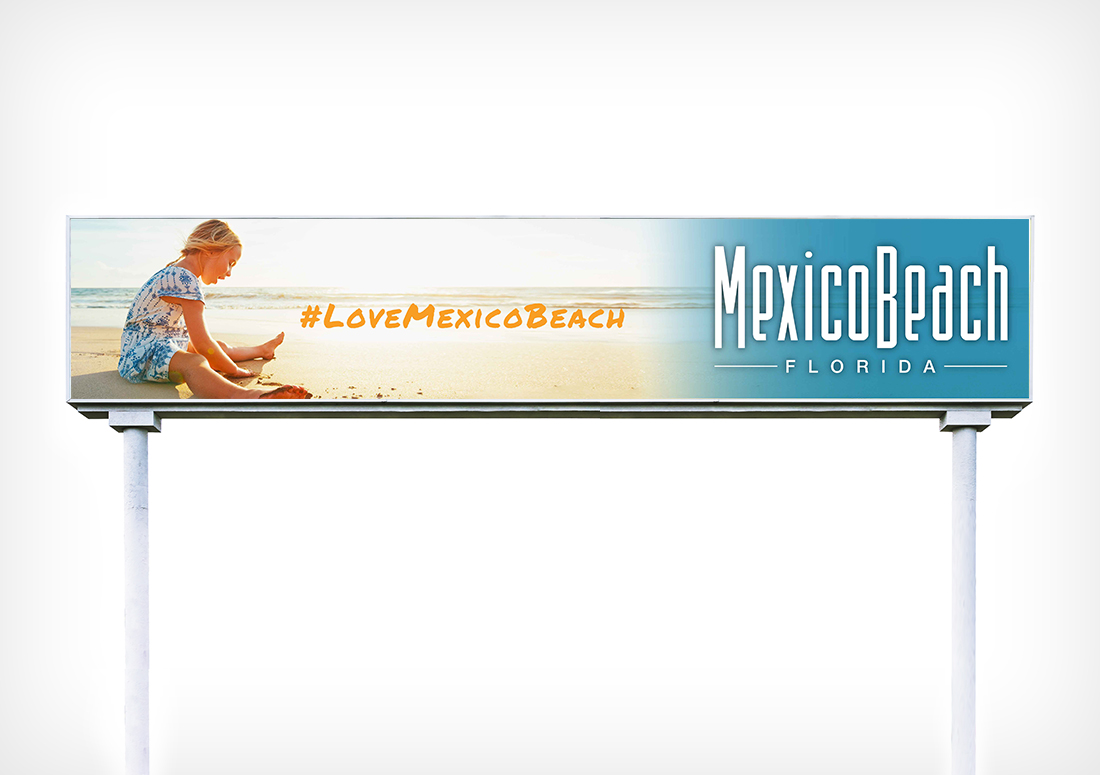 Mexico Beach, Mexico Beach Florida, Love Mexico Beach, Billboard