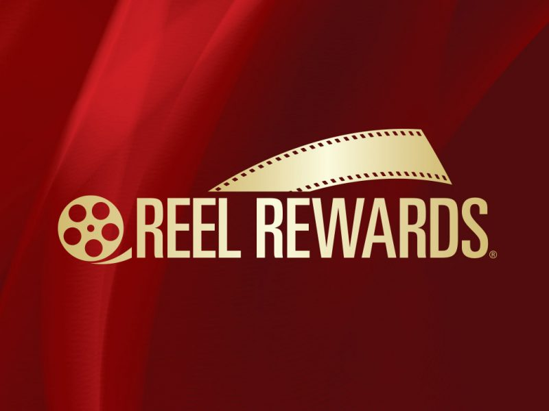 Reel Rewards Logo branding design