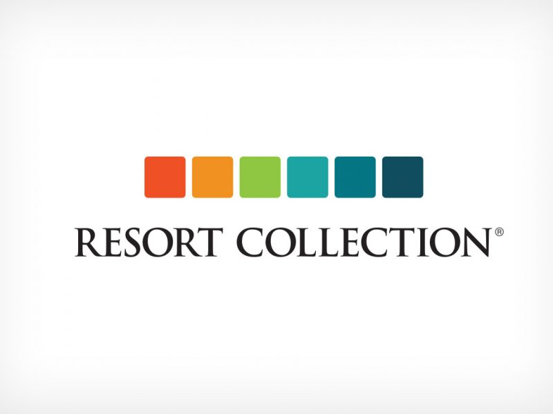 Resort Collection Logo branding design
