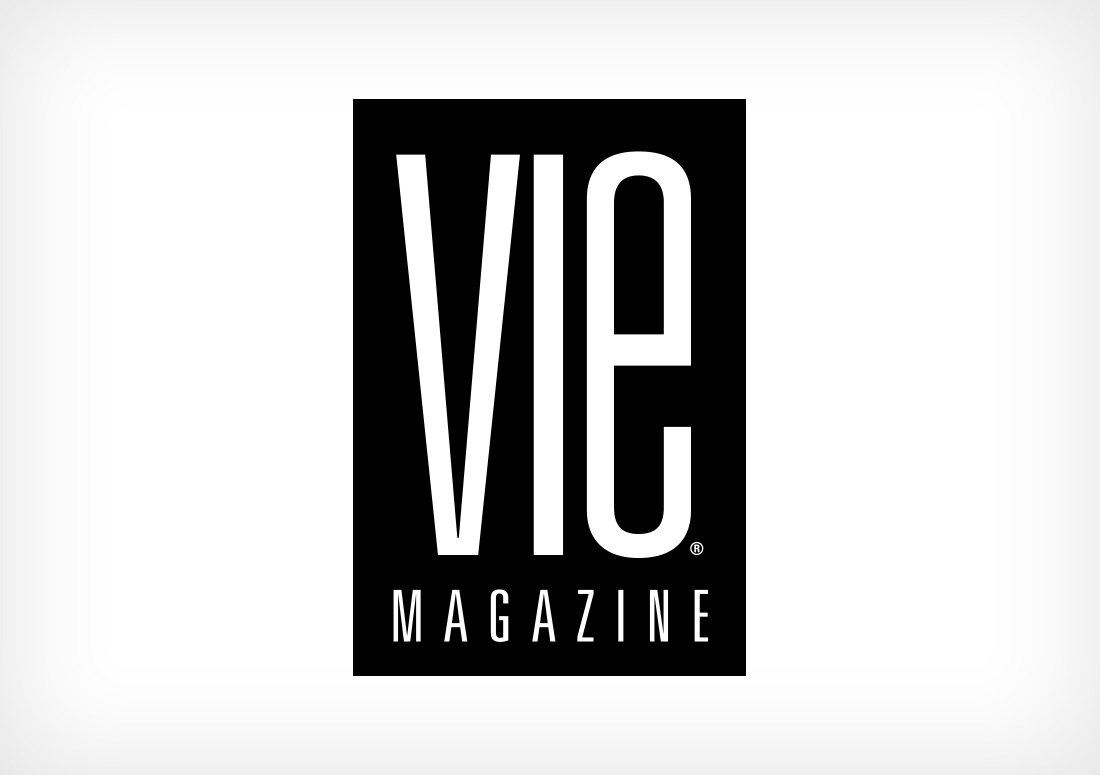 VIE Magazine Logo publication publishing design branding